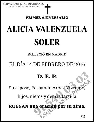 Alicia Valenzuela Soler
